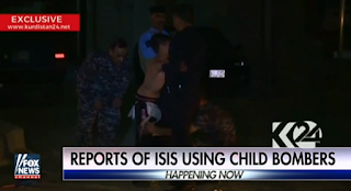 Depraved New ISIS Video Shows Child Executioners Gunning Down Kurds