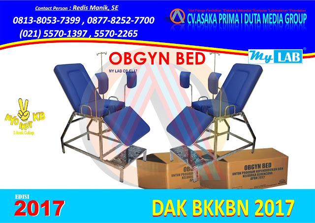 Obgyn Bed sering juga di sebut dengan istilah : Ranjang Obgyn, Tempat Tidur Obgyn, Bed Obgyn, Obgyn Chair, Meja Obstetric Gynekologi.