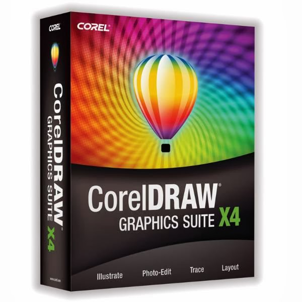 Free Download Software Corel Draw x4 Full + Crack
