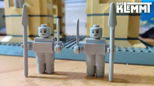 keine Minifiguren = keine Probleme mit LEGO®