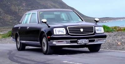 toyota century car images on road