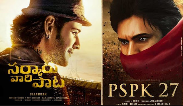 Sarkaru Vaari Paata vs PSPK 27 Movie Box Office Clash