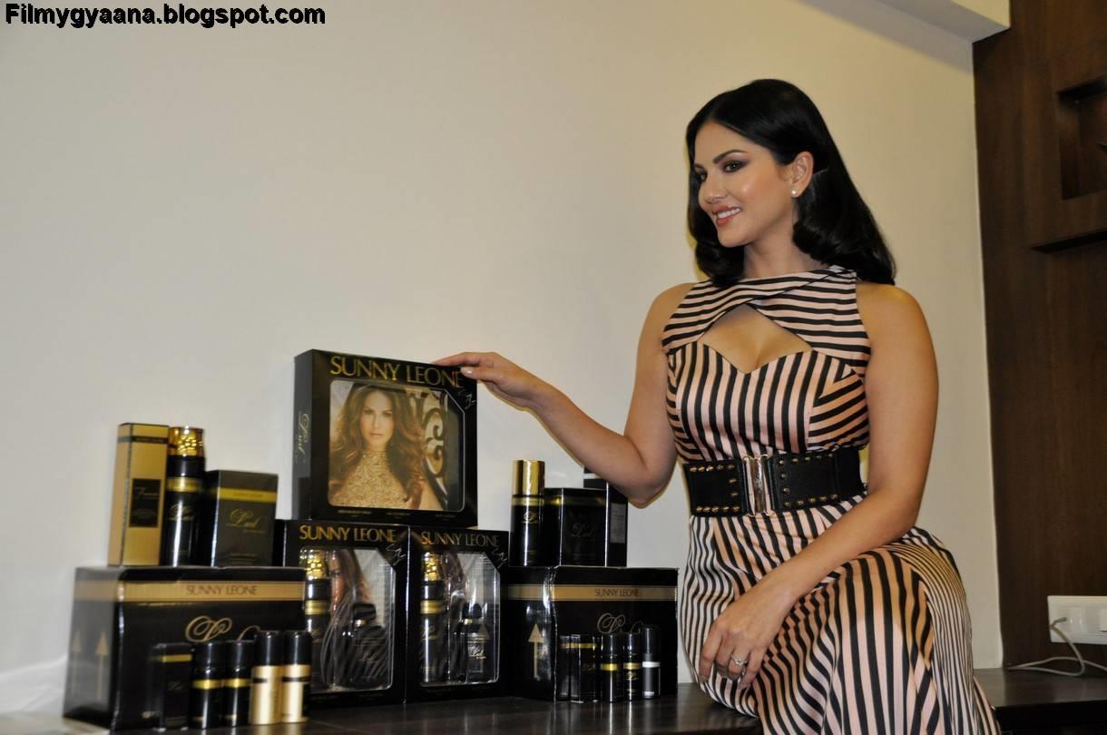 Sunny Leone Latest Photos At Lust Perfume Promotional -7769