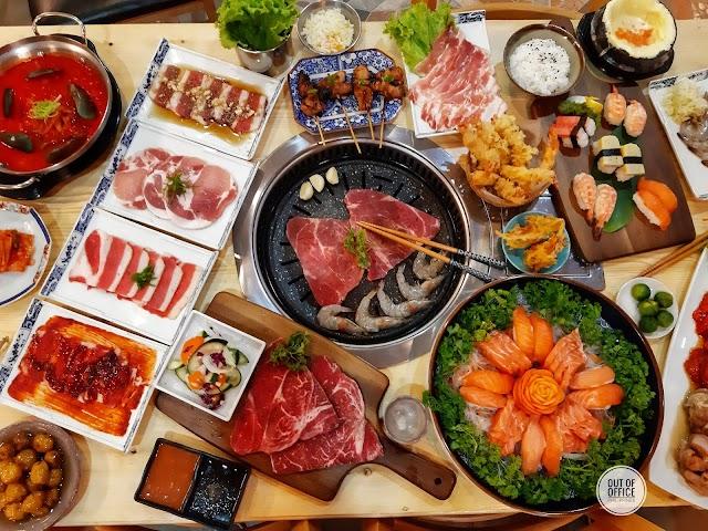 Taste Buds: Yakikai Restaurant: Fusioin of Unlimited Korean and Japanese