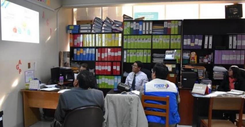 FONDEP: UGEL Tarma también se interesa por la innovación educativa - www.fondep.gob.pe