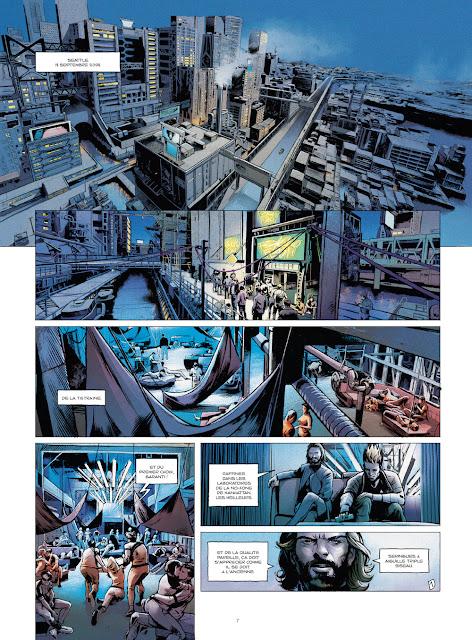 Optic Squad Tome 1 - Mission Seattle de Sylvain Runberg et Stéphane Bervas aux éditions Rue de Sèvres Page 7