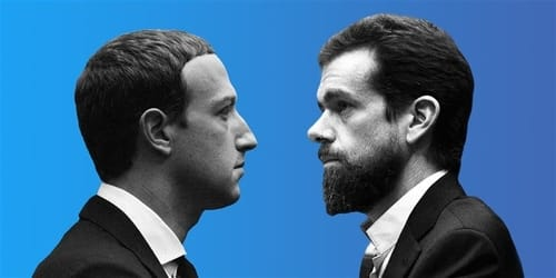 The heads of Facebook and Twitter are due to testify before the Senate Judiciary Committee