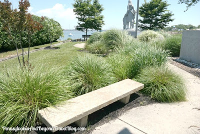 The Fisherman's Memorial in Cape May New Jersey