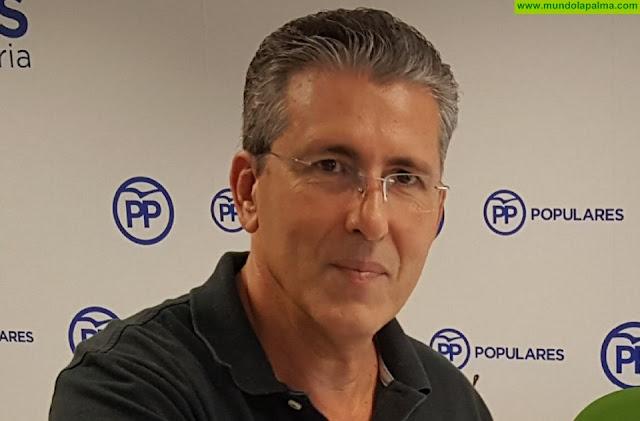 Elecciones municipales, José Antonio Brito cabeza de lista del PP de Tazacorte