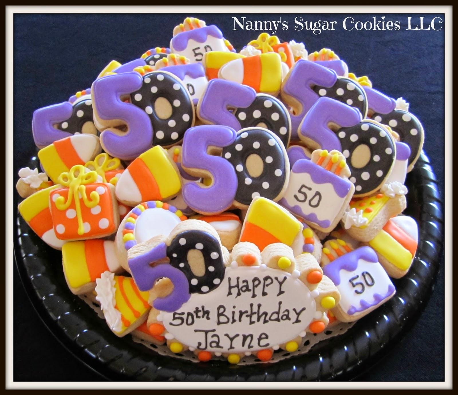 Nanny's Sugar Cookies LLC: 50th Birthday Celebration