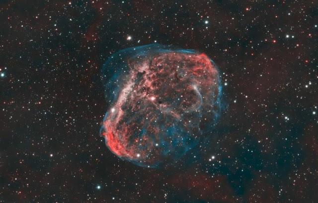 Ερασιτέχνες παρατηρητές φωτογράφησαν κοσμική «φυσαλίδα» 5.000 έτη φωτός μακριά από τη Γη - Ευσημα από την NASA