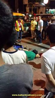عفريت رجل يشاهد جثة صاحبه بعد الوفاه