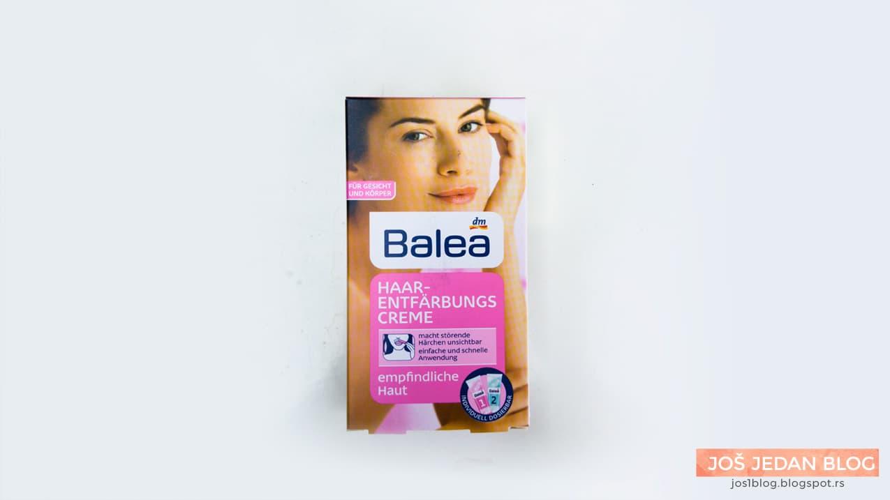 Balea Haarentfernungscreme review, Balea aktivator creme, Balea Bleichcreme, Balea krema za posvetljivanje dlaka recenzija