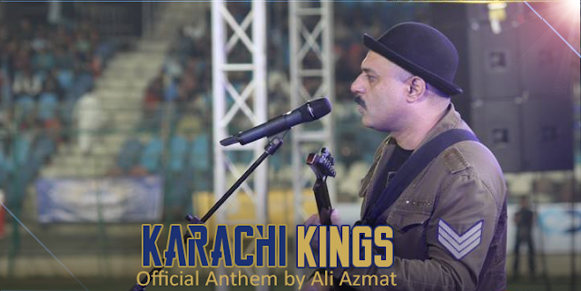 Karachi Kings Official Anthem Ali Azmat
