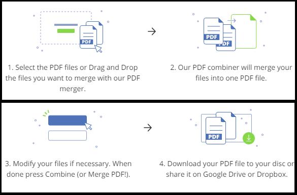 merge PDF files with pdfbear