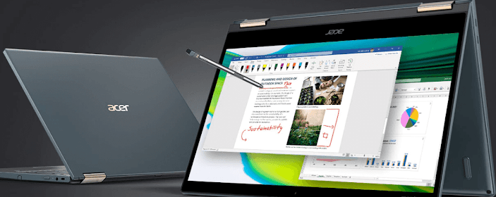 Acer Launches Acer Spin 7 Laptop With 5G Support