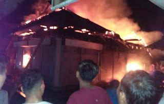 Pasar Sumani Solok Terbakar, Ini Kondisinya