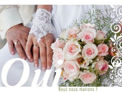 Carte mariage gratuite