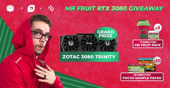 Sorteio de uma Placa de Vídeo GeForce RTX 3080