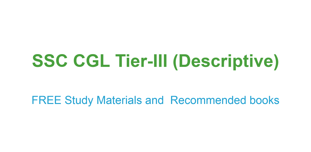 Ssc cgl descriptive paper tier 3 essay letters study materials in this post team qmaths is sharing you an overview of tier iii some tips for writing some important topics for essay some suggestions on best book and altavistaventures Image collections