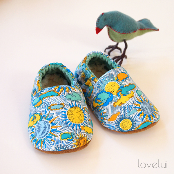 Baby slippers lovelui