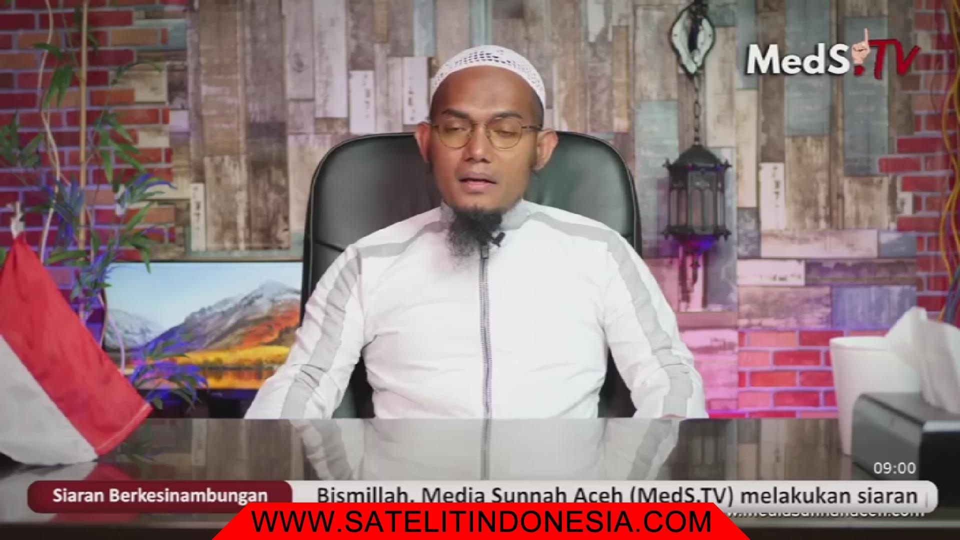 Frekuensi siaran Media Sunnah Aceh TV di satelit Telkom 4 Terbaru