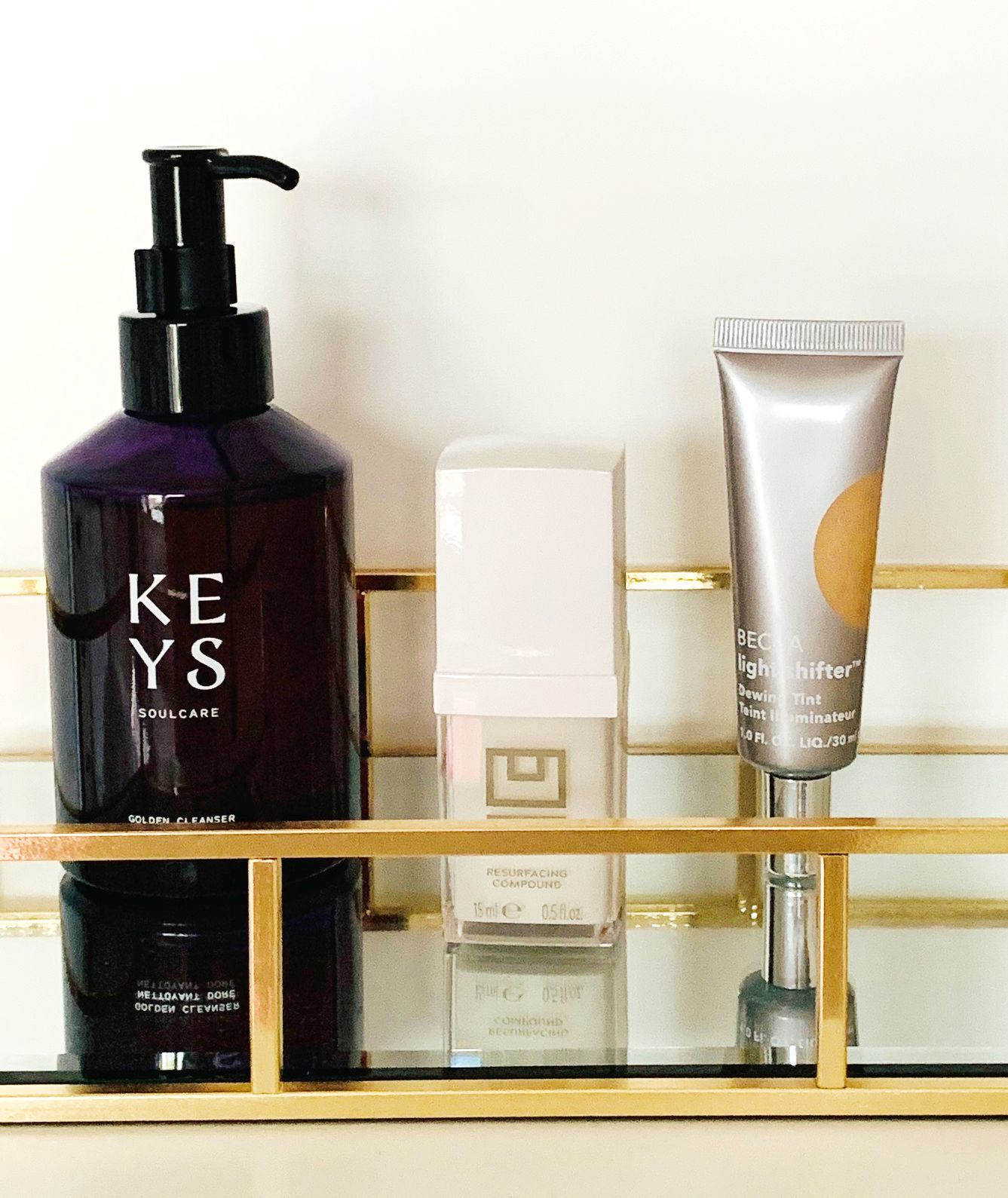 U Beauty Resurfacing Compound,3 treats for 3 budgets,Keys Skincare Golden Cleanser,BECCA Tinted Moisturiser,