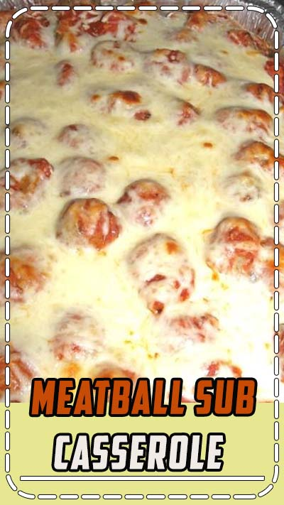 There are several versions of meatball sub casserole online and after several attempts, we created a version we love. We now keep ou