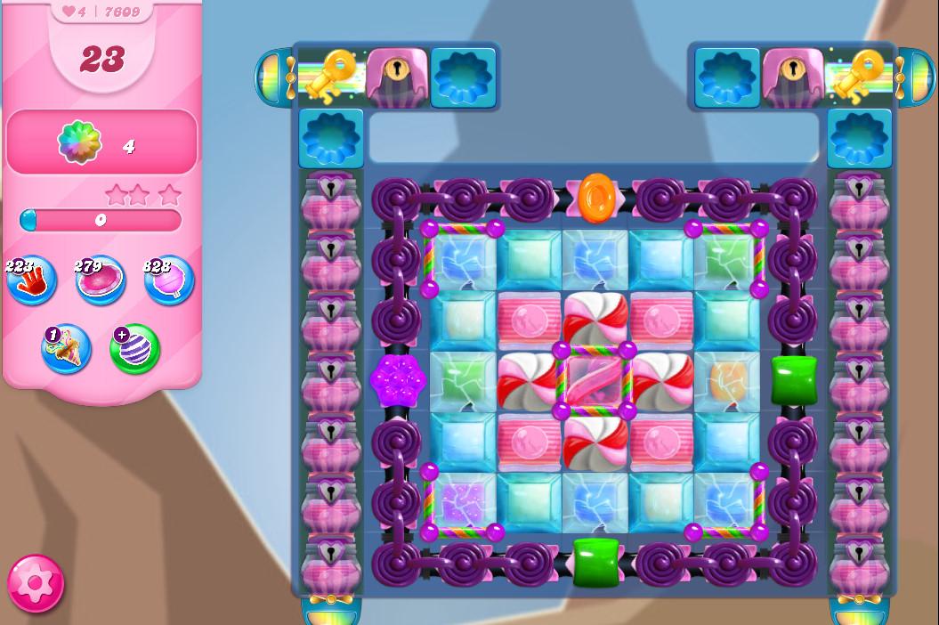Candy Crush Saga level 7690