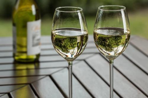 beste witte wijn glas