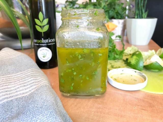 Cilantro Lime Vinaigrette