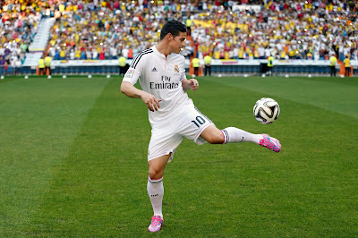 James Rodriguez Bertahan Di Real Madrid