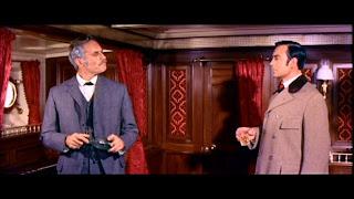 Charlton Heston and Richard Johnson