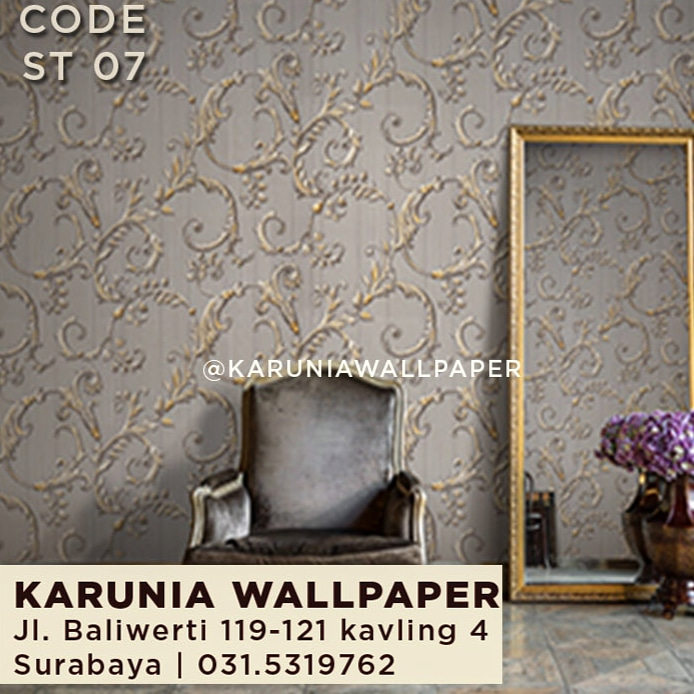 jual wallpaper ornamental
