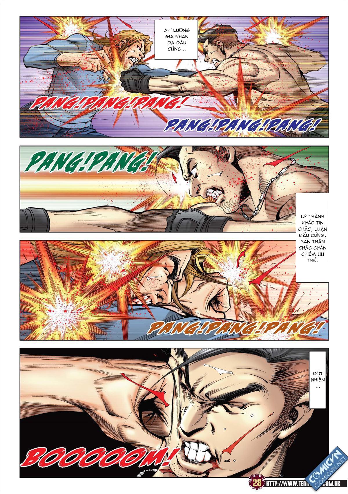 Người Trong Giang Hồ chapter 2137: tiền lộ nan hành trang 25