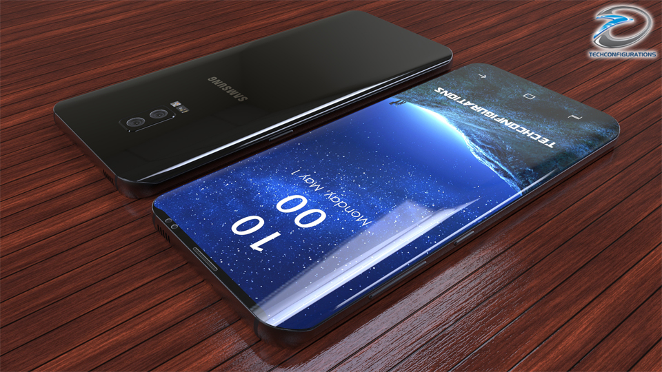 Samsung Galaxy S9 With 95 Screen To Body Ratio Snapdragon