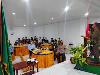 Coffee morning Dengan APH, Kapolres Hadiri Di Kantor Pengadilan Negeri Enrekang