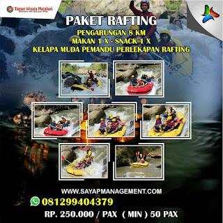 paket rafting 2020