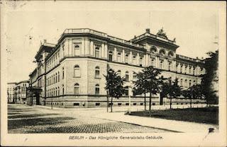 Berlin, Königliches Generalstabs-Gebäude am Königs-Platz