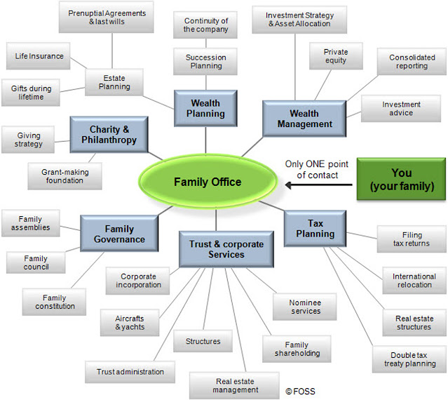 Family Office services chart. StrengthFighter.com