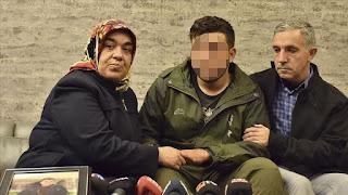 """بعد 4 سنوات.. أسرة تركية تلتقي ابنها المختطف على يد """"بي كاكا"""" الإرهابية"""