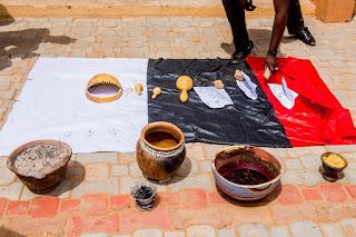 Fresh blood, names of top politicians found at a shrine in Zamfara
