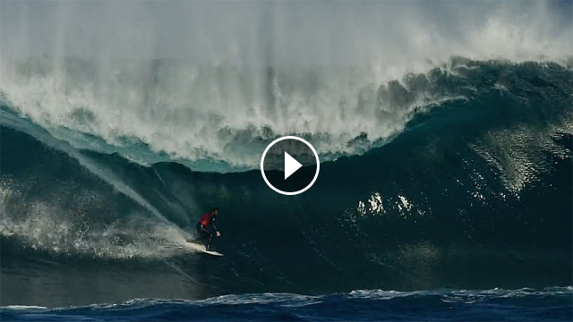 Amp Sessions Kerby Brown Defies Death while Surfing The Left