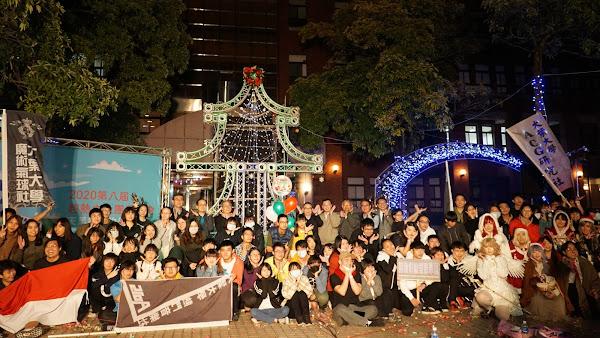 大葉大學打造大葉耶誕城 歡慶耶誕祈福點燈