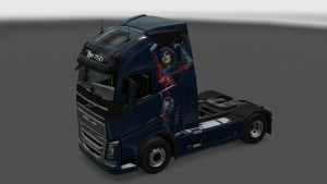 Metallic Body Skin for Volvo 2012 & 2013
