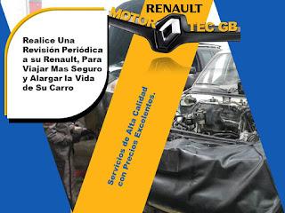 Revision del vehiculo para viaje - Taller Renault Motortec GB