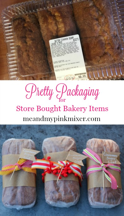 Pretty Packaging for Store Bought Baked Goods