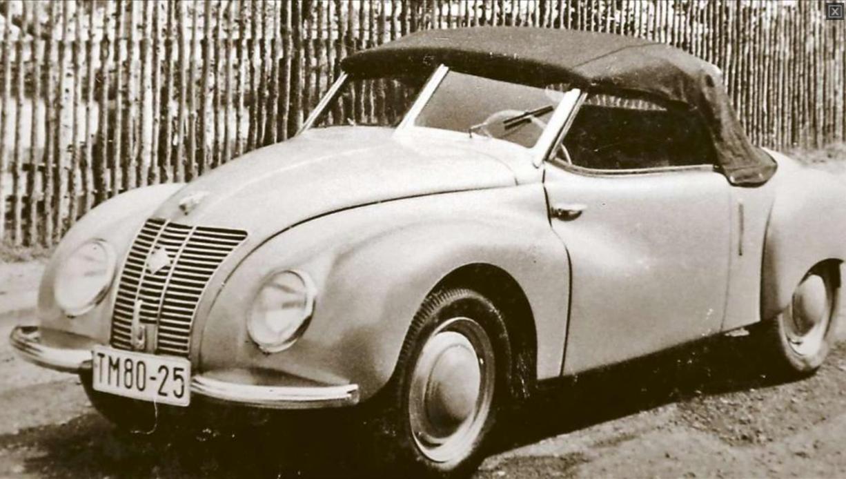 auto union project 1950 ifa f9 roadster prototype. Black Bedroom Furniture Sets. Home Design Ideas