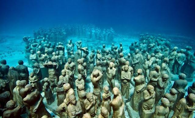 Si tu destino es Cancún no puedes perderte el Museo Subacuático