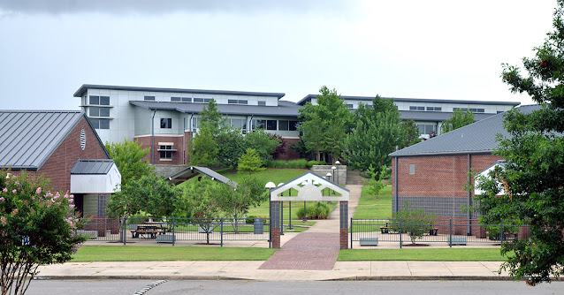 UACCM campus including the University Center, Fine Arts Building, and the Student Union